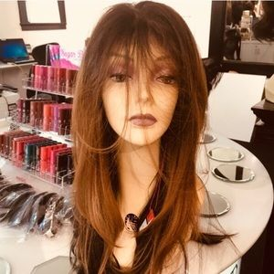 Accessories - Wig Swisslace 6X6 freepart ombré long silky lace